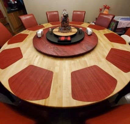 placemats for 42 inch round table