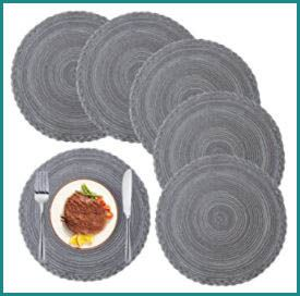 Size of Round Placemats