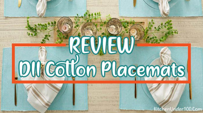 DII Cotton Placemats | Best Placemat for Everyday Use [Review]