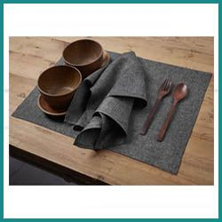 Solino Placemats for Wood Table