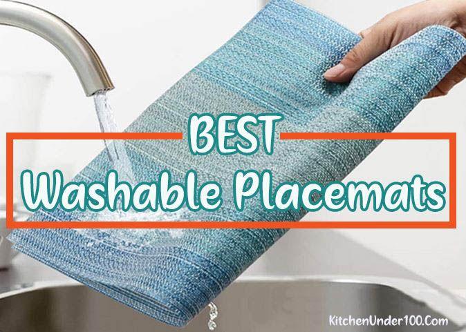 Best Washable Placemats [Waterproof & Machine Washable]