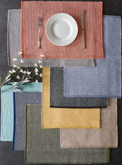 placemats designs and colors