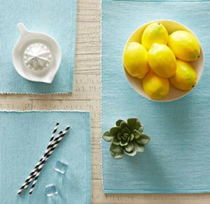 washable placemat for home