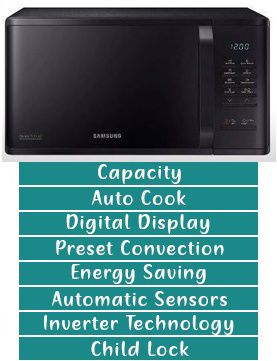 Important Features to Look For In a Microwave Oven