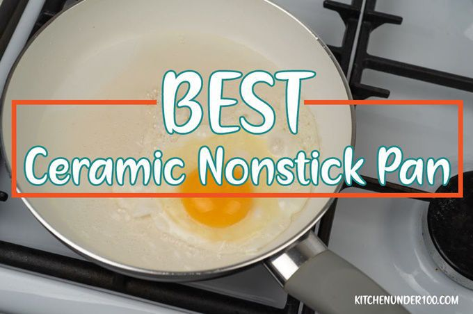 Best Ceramic Nonstick Pan suitable for all cooktops including gas and induction stove tops