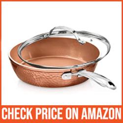 Gotham Hammered Copper - Best Pan for High Heat